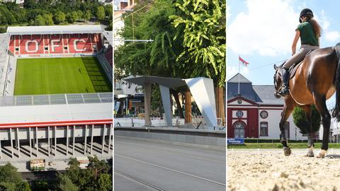 OFC-Stadion/U5-Haltestelle/Landgestüt Dillenburg