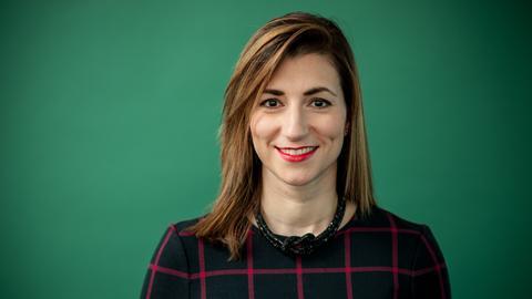 Sofia Strabis, Managerin für Diversität und Inklusion in der Commerzbank