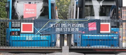 Warnstreik bei der Kasseler Verkehrsgesellschaft