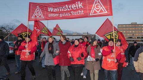 Streik Rheinmetall