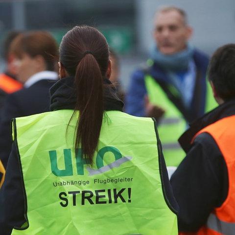 Streik Ufo Lufthansa
