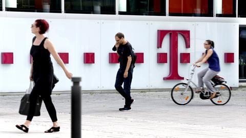 Hauptsitz von T-Online in Darmstadt
