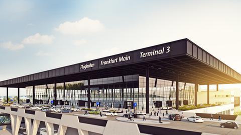 Computer-Grafik des Terminal 3