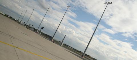 Hier wird das Terminal 3 am Frankfurter Flughafen entstehen.