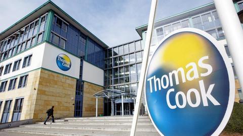 Die Deutschlandzentrale des Reiseveranstalters Thomas Cook in Oberursel.