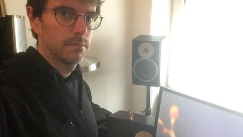 Frankfurter Tontechniker Simon Rauland