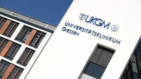 Uni-Klinik Gießen von außen