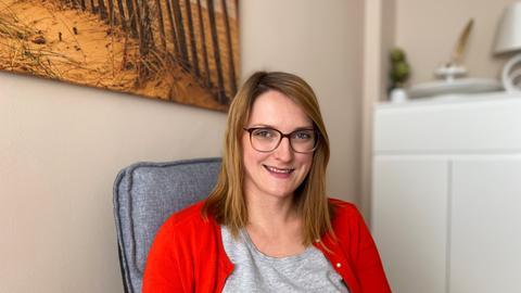 Psychotherapeutin Larissa Netschitailo hat ihre eigenen Praxis eröffnet.