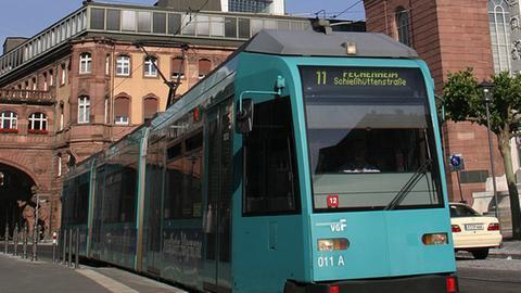 vgf straßenbahn R-Wagen
