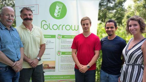 Das Team vom Darmstädter Start-up Solorrow.