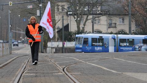 Bei HEAG mobilo in Darmstadt bleiben die Busse im Depot.