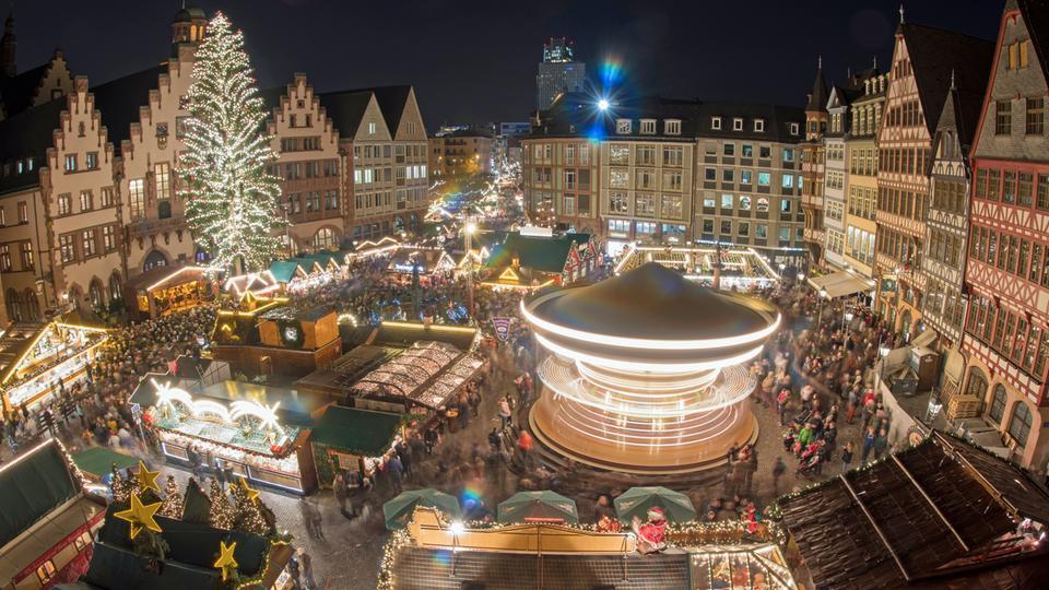 Weihnachtsmarkt Frankfurt Am Main.Weihnachtsmärkte In Frankfurt Kassel Und Darmstadt Eröffnet