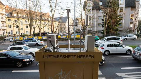 Luftmessstation in Wiesbaden