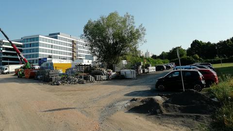 Grundstück für Neubau des Wiesbadener Finanzamts