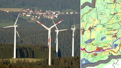 Windkraftanlagen, Vorrangflächen für Willingen