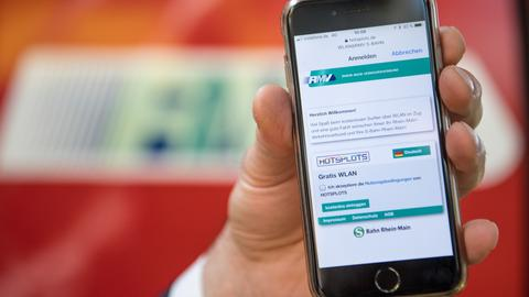 RMV Bald kostenlos surfen in allen S-Bahnen