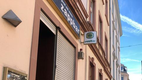 Die Zappbar im Frankfurter Nordend.