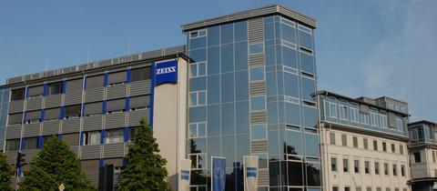 Der Zeiss-Standort in Wetzlar.